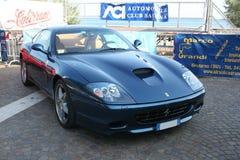 Ferrari-Blau Stockbild