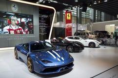 Ferrari booth Stock Images