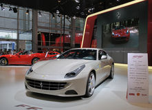 Ferrari branco ff Foto de Stock Royalty Free