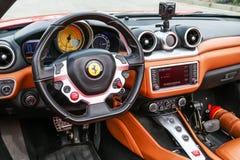 Ferrari Californië T stock foto's