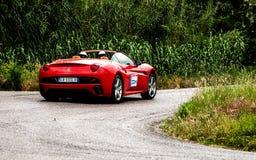 Ferrari California Foto de archivo libre de regalías