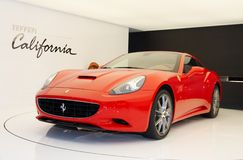 Ferrari California Immagine Stock Libera da Diritti