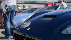 Ferrari California stock video