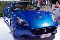 FERRARI CALIFORNIA on display Royalty Free Stock Photos