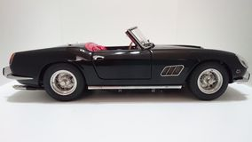 Ferrari California 250 GT SWB spyder, italian cabrio sports car side view Royalty Free Stock Images