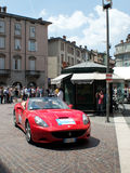 Ferrari California at Mille Miglia 2015 Stock Photography