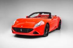 Ferrari 2017 California T che tratta l'angolo del dront di Speciale immagini stock