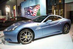 Ferrari car at China international Stock Image