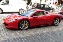 Ferrari car Stock Photo