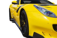 Ferrari car on the studio Royalty Free Stock Image
