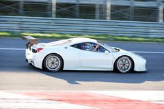 Ferrari 458 challenge evo Royalty Free Stock Photography