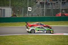 Ferrari 458 Challenge Evo Shell Cup at Monza Royalty Free Stock Photography