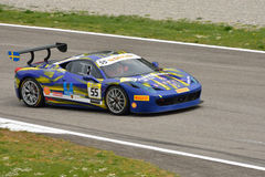 Ferrari Challenge Pirelli Trophy 2015 at Monza Royalty Free Stock Images