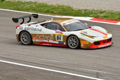Ferrari Challenge Pirelli Trophy 2015 at Monza Royalty Free Stock Image