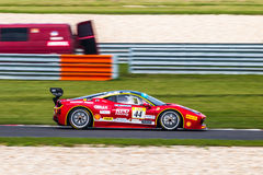 Ferrari 458 Challenge Stock Photo