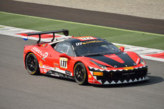 Ferrari Challenge Shell Cup 2015 at Monza Royalty Free Stock Image