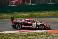 Ferrari Challenge Shell Cup 2015 at Monza Royalty Free Stock Images
