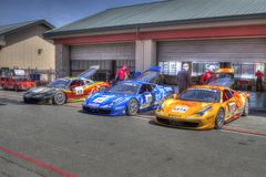 Ferrari challenge Sonoma Raceway Stock Image
