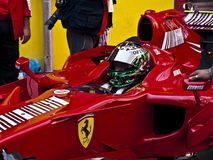 Ferrari Championship. A Ferrari F1  at the Mugello circuit, during the Ferrari Championship 2011 Royalty Free Stock Image