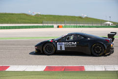 FERRARI 458 CUP race car Royalty Free Stock Photos