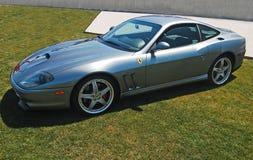 Ferrari d'argento Fotografia Stock Libera da Diritti