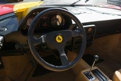 Ferrari dashboard on display Royalty Free Stock Photos