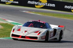 Ferrari Day 2015 Ferrari FXX at Mugello Circuit Royalty Free Stock Image