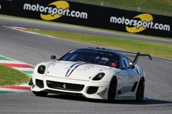 Ferrari Day 2015 Ferrari 599 XX at Mugello Circuit Royalty Free Stock Photo
