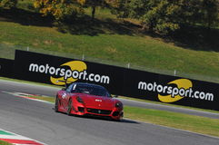 Ferrari Day 2015 Ferrari 599 XX at Mugello Circuit Stock Image