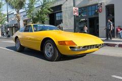 Ferrari Daytona på skärm Arkivfoto