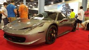 Ferrari de location images stock