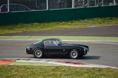 Ferrari 250 de test 2016 van GT Berlinetta SWB in Monza Royalty-vrije Stock Afbeeldingen