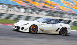 Ferrari die Dagen rennen stock foto's