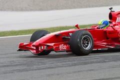 Ferrari die Dagen rennen Stock Fotografie
