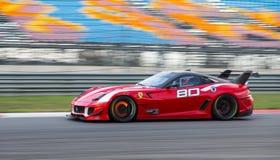 Ferrari die Dagen rennen Royalty-vrije Stock Afbeelding