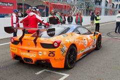 Ferrari die Dagen rennen Royalty-vrije Stock Foto