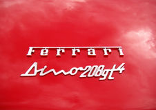 Ferrari Dino Royalty Free Stock Photography