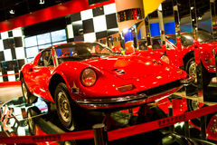 Ferrari dino 246 GTS. ,in Automobile Museum Royalty Free Stock Photo