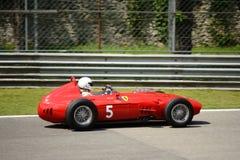 1960 Ferrari Dino 246 Formule 1 auto Stock Foto's