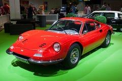 1972 Ferrari Dino 246 GT Coupe sportów samochód Zdjęcie Royalty Free