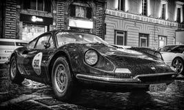FERRARI DINO 246 GT Mille Miglia 2016 Zdjęcie Royalty Free