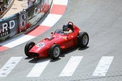 Ferrari 246 Dino Klasyczny Stary Czerwony Bieżny samochód obrazy stock