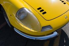 Ferrari Dino på skärm Fotografering för Bildbyråer