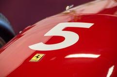 Ferrari 246 Dino 0007 w obwodzie de Barcelona, Catalonia, Hiszpania obraz stock