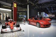 The Ferrari Display royalty free stock photo