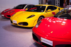 FERRARI on display during the Royalty Free Stock Photography