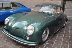 Ferrari ed esposizione di automobili classica Como Italia Immagini Stock