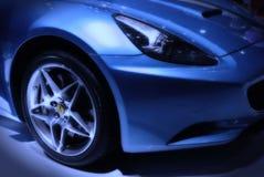 Ferrari en el automóvil del salón Fotos de archivo libres de regalías