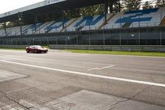 Ferrari en los di Monza de Autodromo Fotografía de archivo