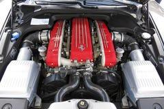 Ferrari engine Stock Photo